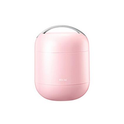 物生物 RELEA 焖烧杯罐闷烧壶微波炉便携饭盒加热玻璃便当盒保温提锅粥桶定制