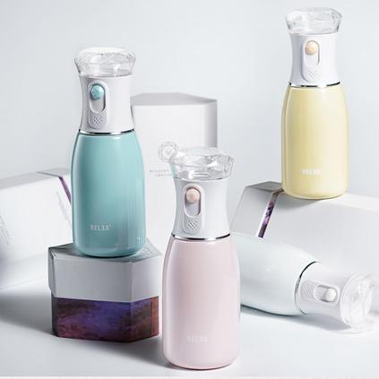 物生物(RELEA) 物生物迷你保温杯子 便携补水仪器纳米喷雾保湿水杯学生女蒸脸器定制