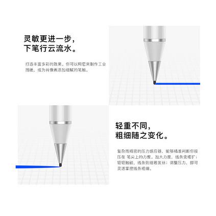 IQS主动式电容笔高精度超细头苹果iPad平板PRO手机通用安卓手写笔定制