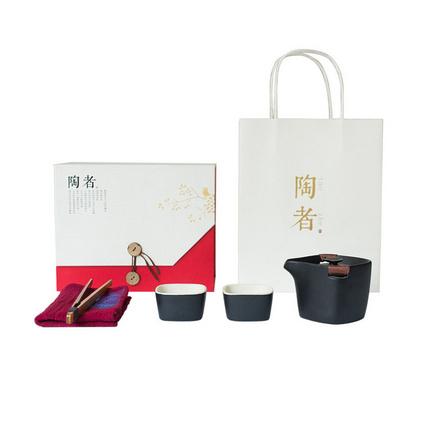 陶瓷一壺二杯茶具禮品禮盒套裝高檔送禮茶具刻字定制