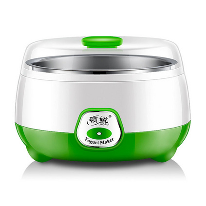 领锐 家用全自动酸奶机恒温发酵迷你不锈钢内胆分杯米酒纳豆机定制