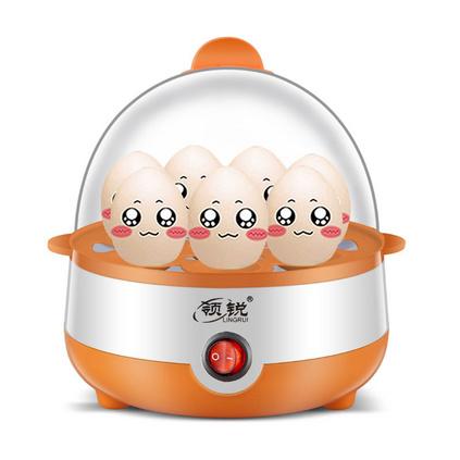 家用单层迷你自动断电早餐机煮蛋器蒸蛋器定制