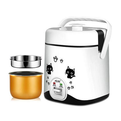 多功能迷你電家用便攜飯煲1-2人加熱小型電飯鍋定制