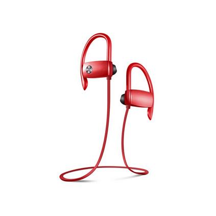 愛國者(aigo) S18無線藍牙耳機入耳塞式雙掛耳運動跑步頭戴手機音樂通話蘋果華為通用運動耳機定制