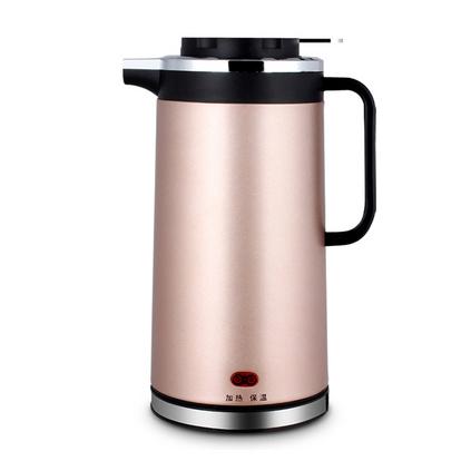 保温电热水壶不锈钢电水壶双层烧水壶定制
