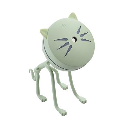 新款萌寵貓咪加濕器 創意禮品霧化加濕器 卡通迷你小型桌面凈化器定制