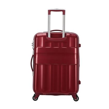 Samsonite/新秀丽S43时尚扩展层旅行箱镜面设计行李箱定制20寸
