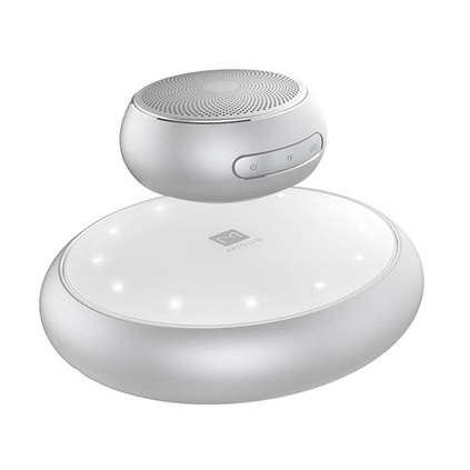 米索 M6 磁懸浮音響無線藍牙音箱迷你手機插卡音響帶燈光低音炮定制