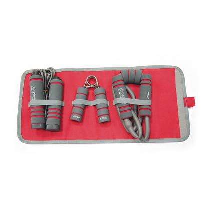 李寧-家庭便攜多功能健身套裝運動三件套器材定制