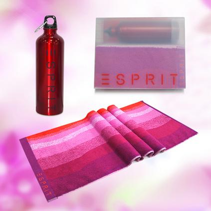 运动水壶毛巾两件套跑步健身套装定制(SP-G129)