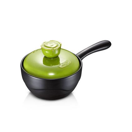 愛仕達玫瑰系列1.5L韓式彩色陶瓷煲燉鍋湯鍋定制