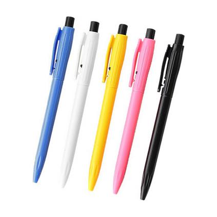 旁跳圆珠笔批发广告笔定制印刷LGOO简易豆芽笔广告宣传礼品印字