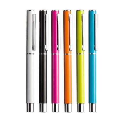 圓珠筆噴膠廣告筆定制批發中性筆簽字筆碳素水筆定做印刷LOGO宣傳筆定制