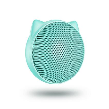 幾素貓耳藍牙音箱迷你手機無線便攜式戶外重低音炮創意小音響定制