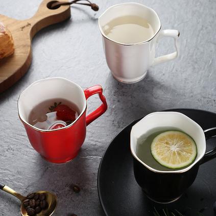 高檔咖啡杯優質骨瓷杯定制歐式茶具陶瓷杯馬克杯