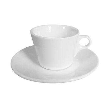 簡約陶瓷杯套裝出口歐洲強化瓷咖啡杯碟套裝定制