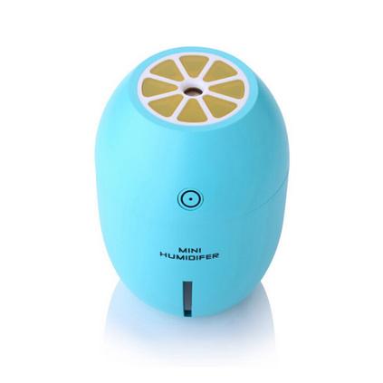 檸檬加濕器 創意家用桌面迷你加濕器 夜燈凈化空氣加濕器定制