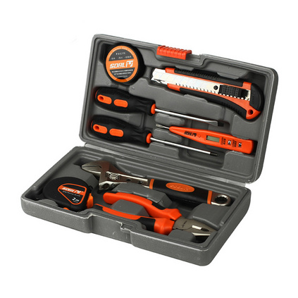 圣德保羅 9件套禮品型工具組合箱修理套裝定制