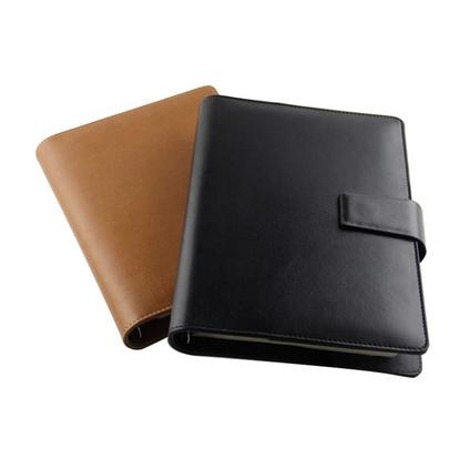 商务记事本活页日记本手帐本带计算器笔记本定制