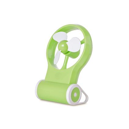 USB迷你便攜可手持鏡面小風扇辦公禮品定制