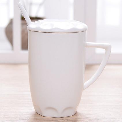 創意黑白馬克杯亞光色釉杯陶瓷杯定做