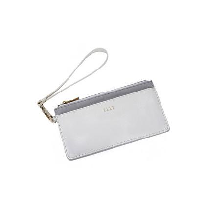 ELLE(她)長款便攜卡包/手拿包 隨身拉鏈錢包定制