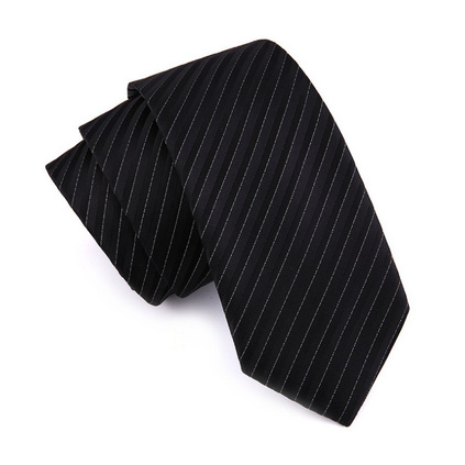 韓版商務7cm正裝領帶 男士滌綸絲領帶定制