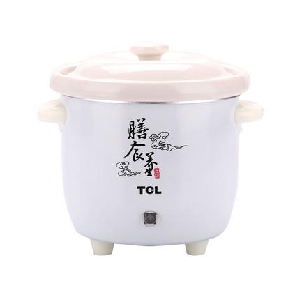 TCL 養生電燉鍋TH-J7P 家用單人0.7L陶瓷內膽煮粥煲湯鍋定制