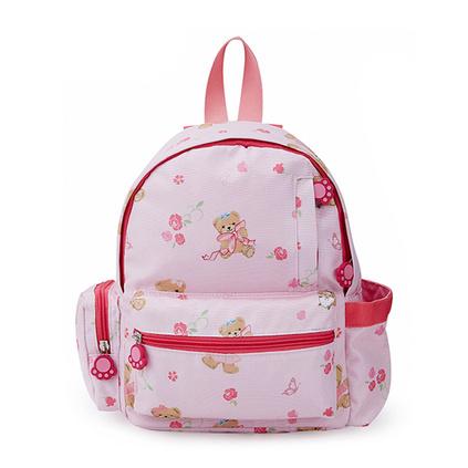 外交官Diplomat 時尚可愛 卡通頭像 兒童雙肩包 泰迪粉色背包 小女孩上學書包定制