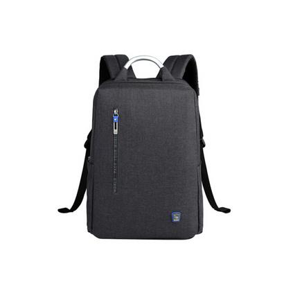 愛華仕(oiwas)4306新品簡約雙肩電腦包男 商務雙肩包 時尚背包定制