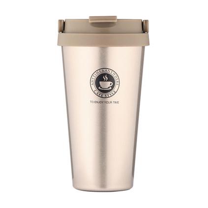 優宜家(E UE+)UE-0732 304不銹鋼隨行杯便攜提手保溫水杯咖啡杯情侶杯辦公杯定制