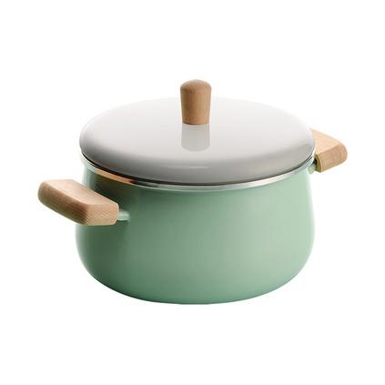 優宜家(E UE+) 琺瑯搪瓷鍋具湯鍋炒鍋煎鍋三件套定制