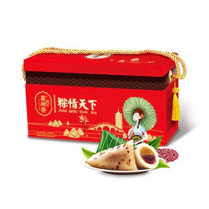 嘉鄉齋粽子禮盒粽情天下1640g鮮肉雜糧粽子端午禮品定制
