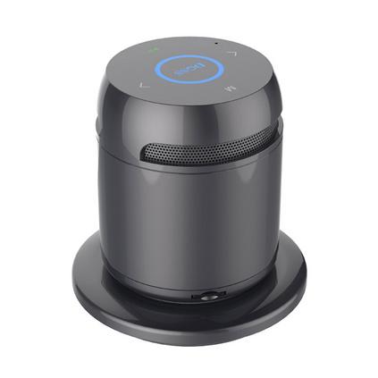 新款無線充電藍牙音箱金屬外殼觸摸讀卡藍牙小音響定制