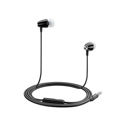 沃品(WOPOW) AU06入耳式立體聲耳機 線控帶麥耳機 語音通話手機耳機定制