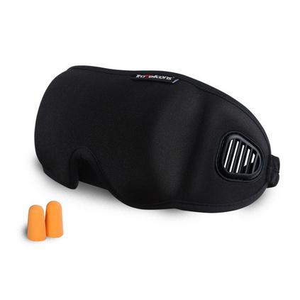商旅寶TF050N3D立體裁剪遮光保健透氣眼罩促睡眠出差旅游居家眼罩定制