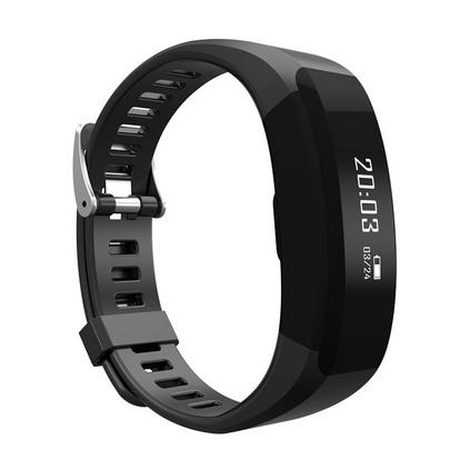 恩谷(ENGUE)心率手环 24小时心率监测 科学睡眠检测 时间 计步 来电提醒  EG-T8运动手环定制