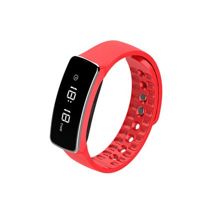 恩谷(ENGUE)运动手环 来电提醒 久坐提醒 LED显示屏 时间显示 计步器 睡眠监控智能腕带手表定制