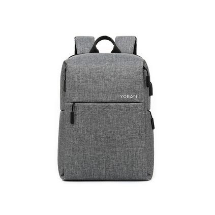 防盜背包智能usb充電雙肩包男商務防水牛津布筆記本電腦背包定制