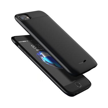 ?#35270;胕phonex 6/7/8通用超薄手机壳移动电源无线背夹充电宝定制