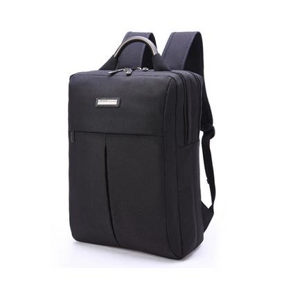 男士雙肩包休閑帆布背包商務電腦包15.6寸耐磨防水大容量旅行包定制