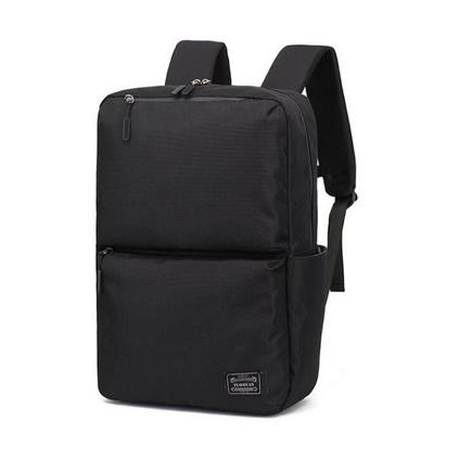 男士双肩包大容量短途旅行背包商务电脑包潮流大学生书包帆布男包定制