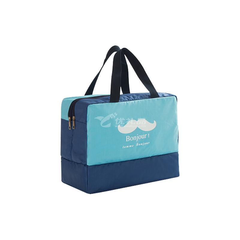 干濕分離男女防水包定制收納包大容量洗澡浴衣袋洗漱包
