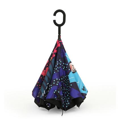大嘴猴(Paul Frank)創意日用家居 時尚卡通反向雨傘 PFU015