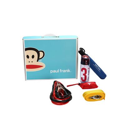 大嘴猴(Paul Frank)創意禮品 車載應急工具包 巡洋艦套裝PFC602T-1