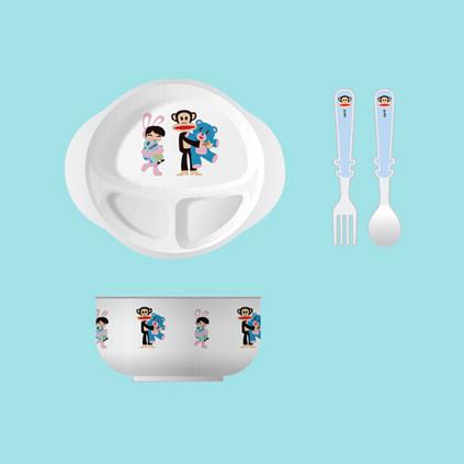 大嘴猴(Paul Frank)创意儿童餐具 米雅套装 PFC603T