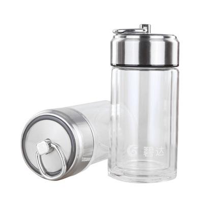 新款玻璃杯日用百貨200ML水杯可愛易拉罐杯定制