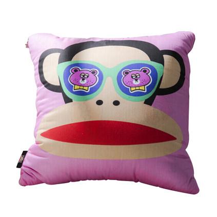 大嘴猴(Paul Frank)創意卡通床上用品 滿滿愛靠枕 靠枕被 PF0122KZ 靠枕被定制