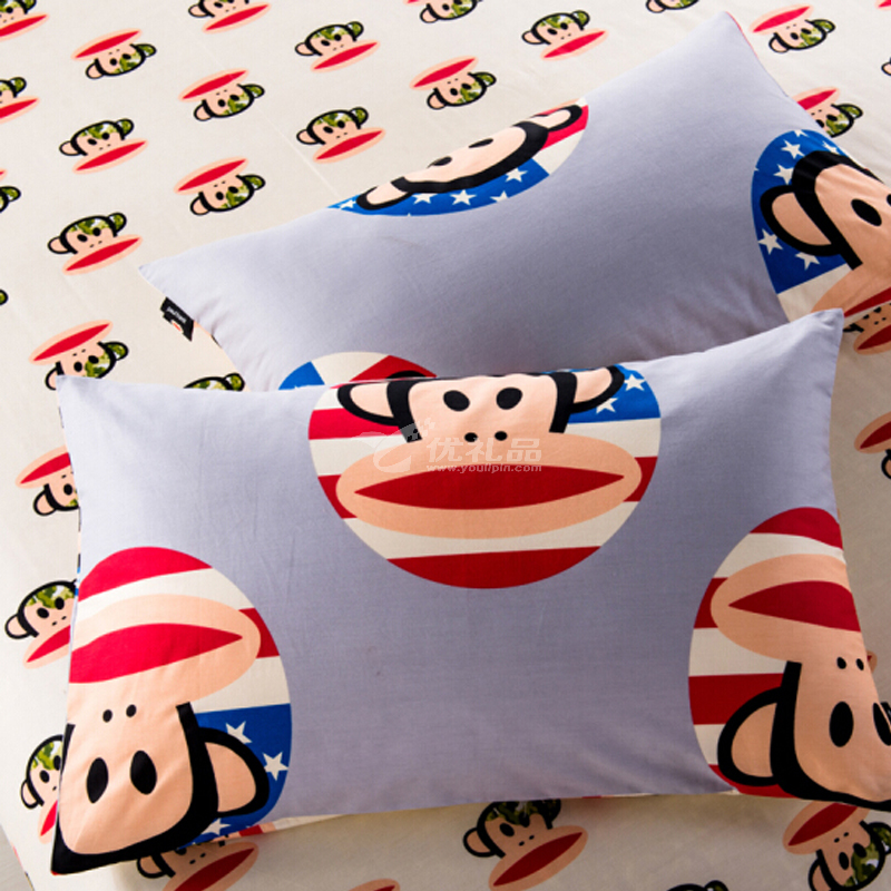 大嘴猴(Paul Frank) 创意卡通床上用品 四件套 联盟 200*230cm亚博体育app下载地址