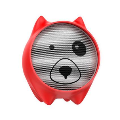 倍思QE06寵物狗藍牙音箱便攜卡通可愛居家兒童藍牙音箱定制